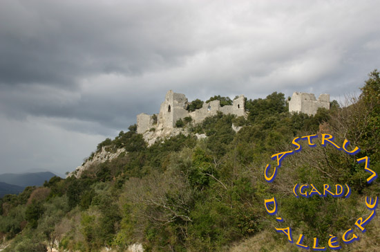 Ciel d'orage sur le Castrum
