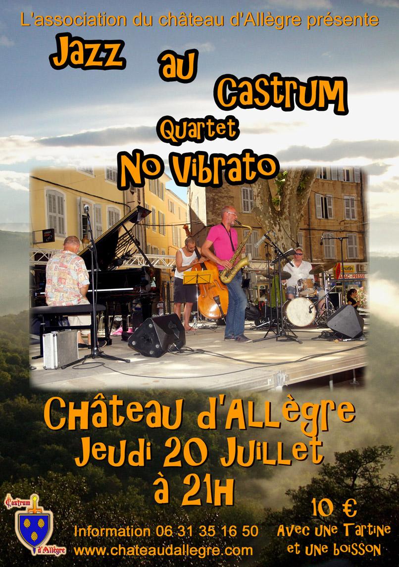 Affiche 20 juillet jazz