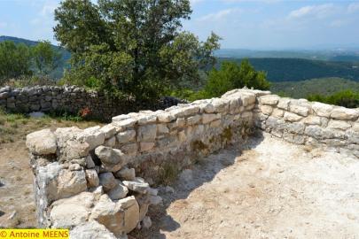 Muret de la terrasse