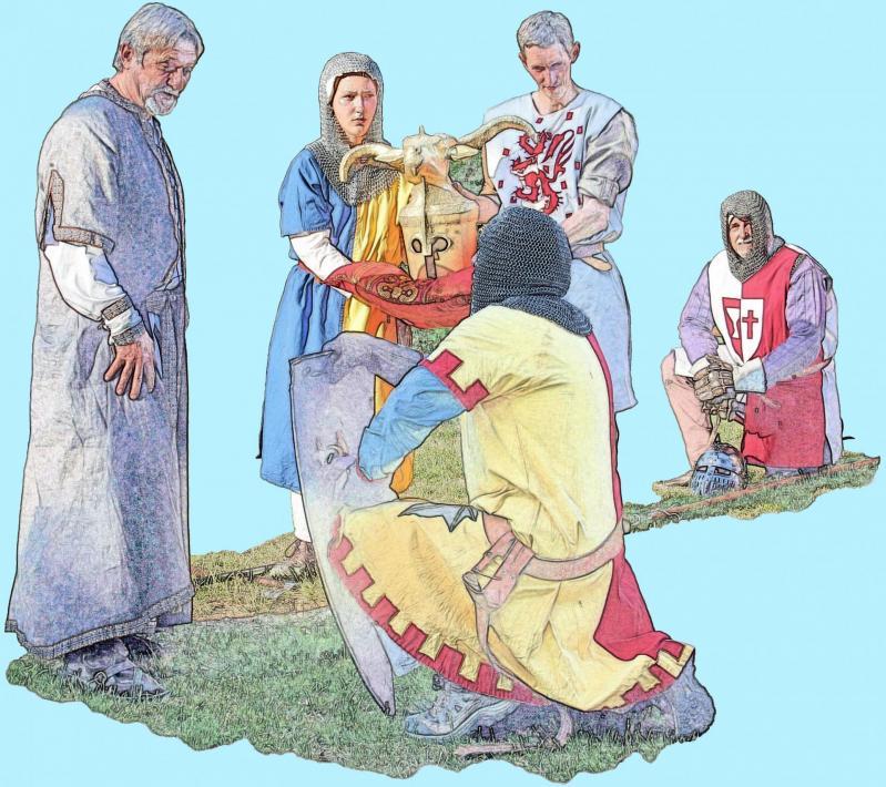 Remise au Seigneur d'Allègre