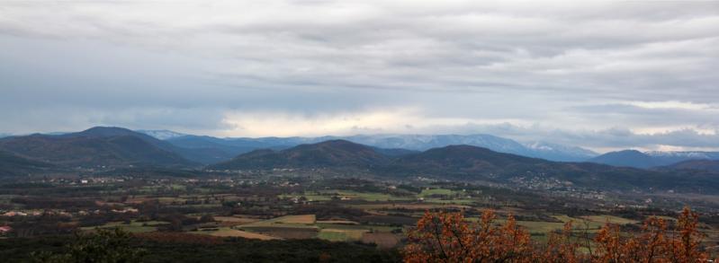 Neige sur le Lozère