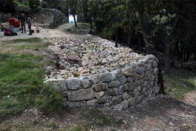 angle du mur nord