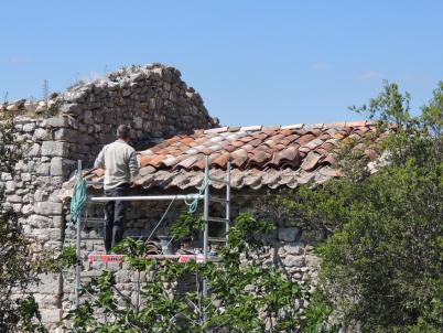 toit de la Maison Laurent