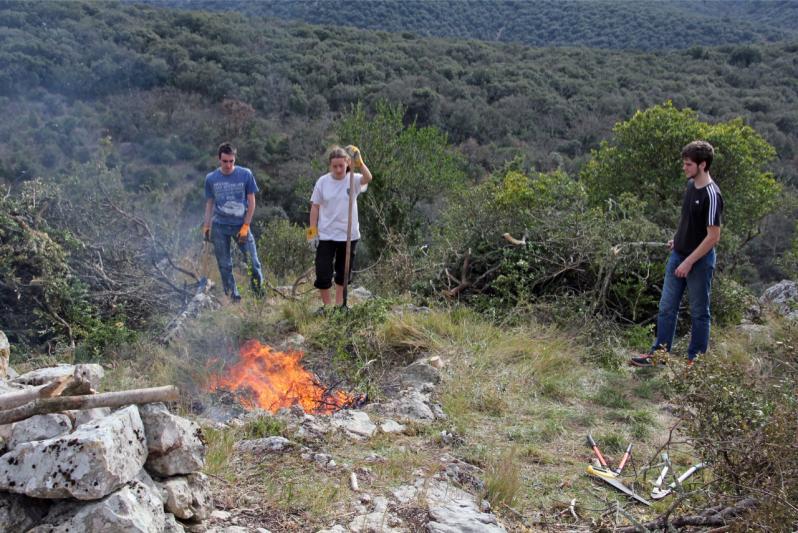 Pompier pyromane