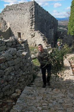 Nettoyage du village