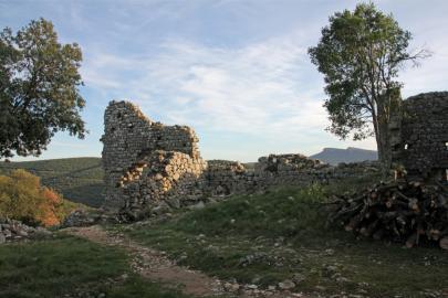 Intérieur du Castrum