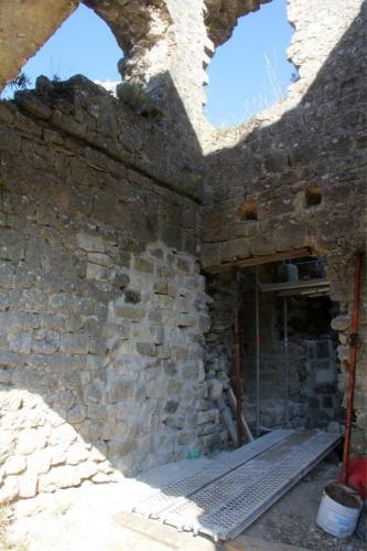Obturation du mur nord